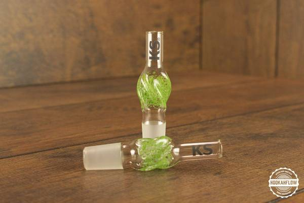 KS Glasschlauchanschluss mit Schliff Minea green.jpg
