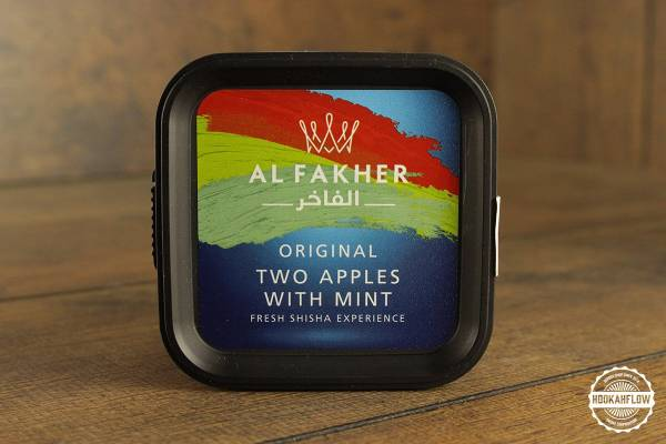 Al Fakher Fresh Experiences Original 200g Two Apples With Mint.jpg